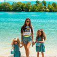Alexandra (Koh-Lanta, Les 4 Terres) avec ses deux filles sur Instagram