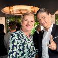 Élise Lucet et Jacques Cardoze au photocall de la conférence de presse de France 2 au théâtre Marigny à Paris le 18 juin 2019. © Coadic Guirec / Bestimage
