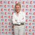 Elise Lucet - Conférence de presse de rentrée de la chaîne France 2 au théâtre du Rond Point. ©Guillaume Gaffiot /Bestimage