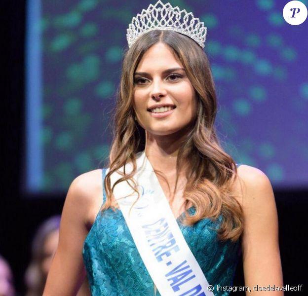 Cloé Delavalle est élue Miss Centre Val de Loire 2020 - Instagram