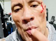 Dwayne Johnson : Blessé au visage... l'acteur goûte son sang !