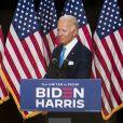 Joe Biden, le candidat démocrate à l'élection présidentielle américaine, et la sénatrice Kamala Harris à Wilmington, le 12 août 2020.