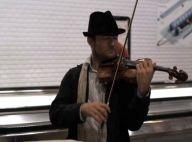 Le virtuose Renaud Capuçon, mari de Laurence Ferrari... joue du violon dans le métro !