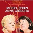 """L'affiche de la pièce de théatre de Muriel Robin et Annie Grégorio """" Les Diablogues """" à partir du 8 octobre."""