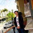 Exclusif - Cedric Biscay durant la présentation dans la rotonde du Casino de Monte-Carlo, le 22 octobre 2020, du tome 2 de Blitz, un manga monégasque crée par Cedric Biscay en collaboration avec Tsukasa Mori et Daitaro Nishihara. La sortie officielle aura lieu le 23 octobre 2020. © Bruno Bebert / Bestimage