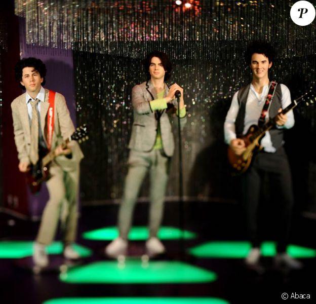 Les Jonas Brothers viennent d'obtenir leurs statues au musée Madame Tussaud de Los Angeles !