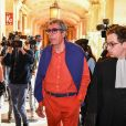 Patrick Balkany à la sortie du palais de justice de Paris après sa condamnation à cinq ans de prison ferme ; et quatre ans pour sa femme Isabelle le 27 mai 2020.