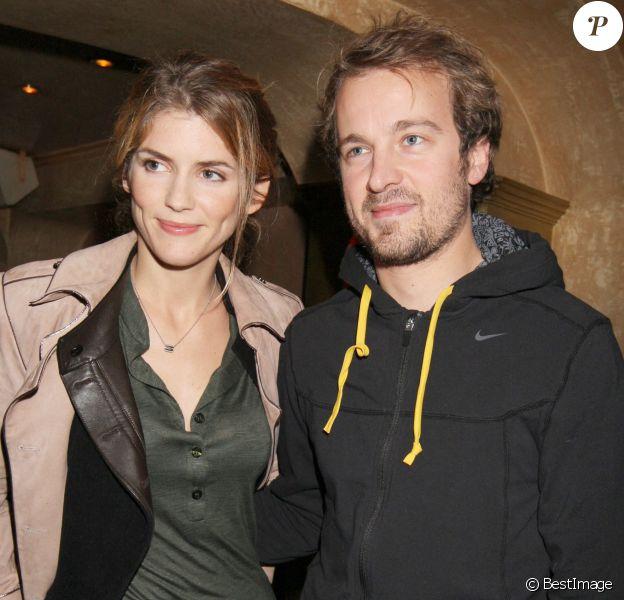 Alice Taglioni et Jocelyn Quivrin à Paris.