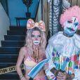 Jessica Thivenin et Thibault Garcia à Halloween, le 31 octobre 2020