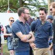 JJ Chalmers et Jaco van Gass - Le prince Harry assiste à l'épreuve de cyclisme chronométré lors des Invictus Game 2017 à Toronto. Le 26 septembre 2017.