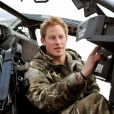 Le prince Harry en Afghanistan avec l'armée britannique en 2012.