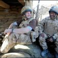Le prince Harry en Afghanistan avec l'armée britannique en 2008.