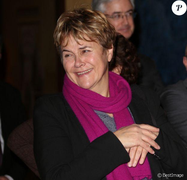 Exclusif - Dominique Voynet assiste au 40e anniversaire de 'WWF' au Museum d'histoire Naturelle à Paris