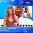 Léo, candidat des 12 coups de midi, grimé en Céline Dion sur le plateau - TF1, 18 novembre 2020