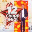 Léo, candidat des 12 coups de midi, grimé en Céline Dion sur le plateau - TF1