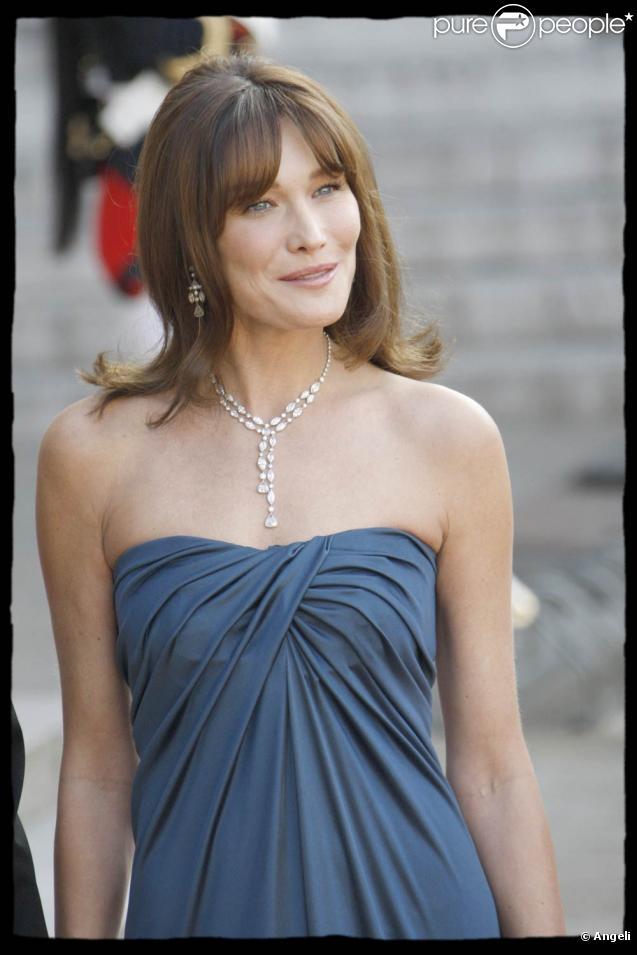 La très belle Carla Bruni !