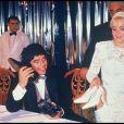 Archives- Mariage de Diego Maradona et de Claudia Villafañe en 1989.