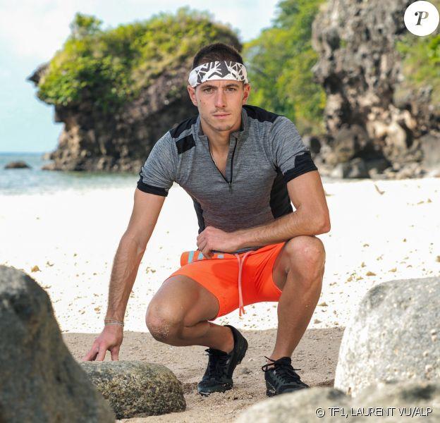 """Dorian, candidat de """"Koh-Lanta, Les 4 Terres"""", diffusée en 2020, photo officielle"""