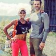 Gil Alma et sa femme Aminata à la montagne, août 2019