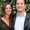 Nathanaël de Rincquesen et sa compagne Caroline au village lors des internationaux de France de tennis de Roland Garros, Jour 3, à Paris le 29 mai 2018. © Dominique Jacovides / Cyril Moreau / Bestimage