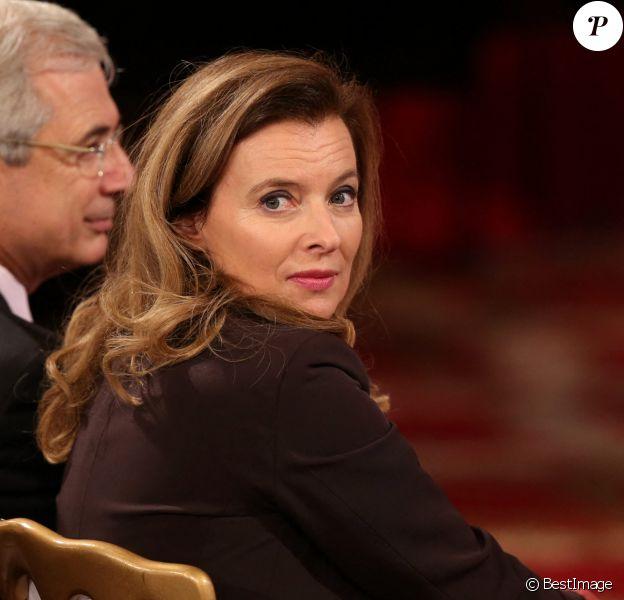 Valerie Trierweiler - Allocution du Président de la République Francaise, Francois Hollande à l'occasion du lancement des Commémorations du Centenaire de la première Guerre Mondiale, au Palais de l'Elysée