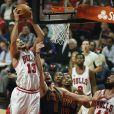 Joakim Noah lors du match de NBA opposant les Chicago Bulls aux Cleveland Cavaliers. Chicago, le 27 octobre 2015.