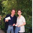 Benjamin Castaldi et son ex-femme Valérie Sapienza, en 1999