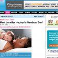 Jennifer Hudson vous présente son bébé dans people magazine US le 09/10/09