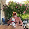 Jean-Paul Rouve sur Instagram. Le 10 août 2020.