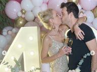 Elodie Gossuin en fête : baiser passionné à son mari Bertrand pour ses 40 ans