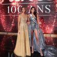 Sylvie Tellier et Iris Mittenaere sur Instagram, le soir de l'élection de Miss France 2021, le 19 décembre 2020.