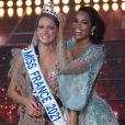 Miss Normandie Amandine Petit elue Miss France 2021 Soiree d' election de Miss France 2021 en direct sur TF1 et presente par Jean-Pierre Foucault. Puy Du Fou, FRANCE - 19/12/2020