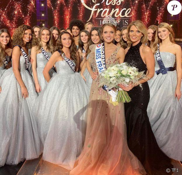 L'élection de Miss France 2021 et le sacre d'Amandine Petit sur TF1.