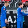 Marcus Thuram a été exclu de la rencontre opposant le Borussia Mönchengladbach au TSG Hoffenheim, après avoir craché au visage du joueur adverse Stefan Posch. Le 19 décembre 2020.
