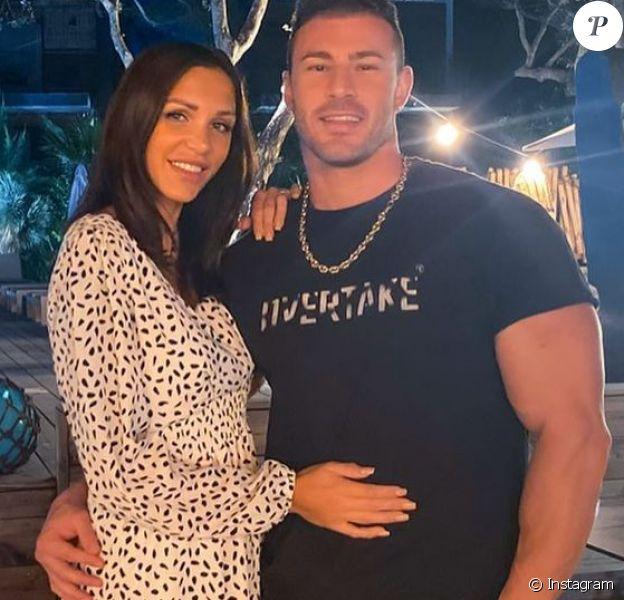 Julia Paredes et Maxime en couple, photo Instagram