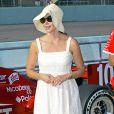 Ashley Judd venu soutenir son mari lors d'une course automobile en Floride