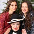 Genevieve de Fontenay avec ses petites filles Adèle et Agathe sur Instagram.