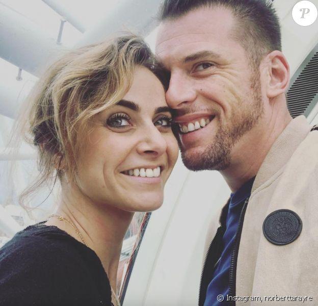 Norbert Tarayre avec sa compagne Abi - Instagram