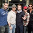 Stephen Gately et son groupe Boyzone (2008)