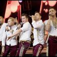 Stephen Gately et le groupe Boyzone (mai 2009)