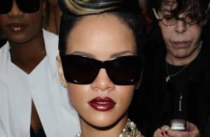 Rihanna en body totalement transparent et en fourrure... sur la pochette de son prochain disque !