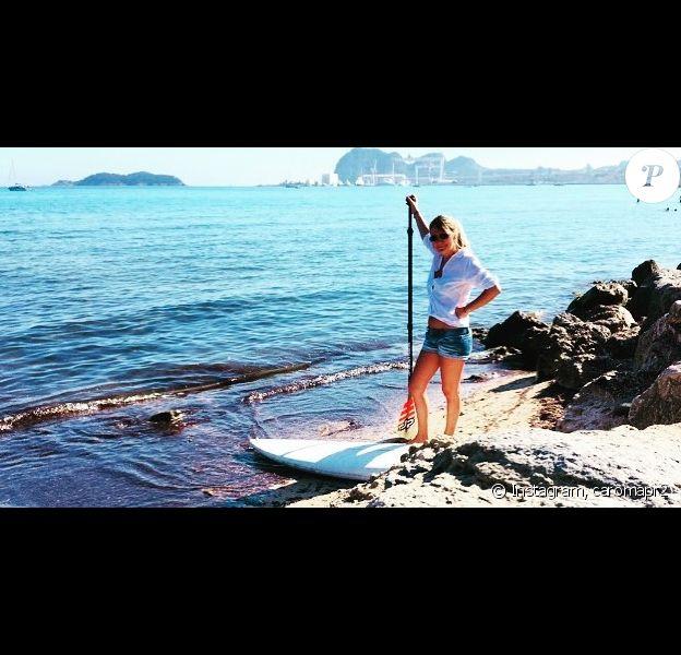 """Caroline de """"Mariés au premier regard"""" avant une séance de paddle à la Ciotat"""