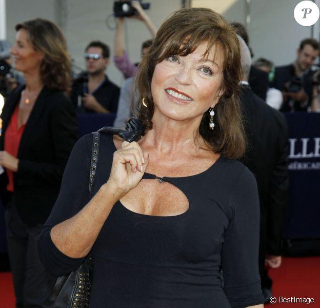 Marie-France Pisier au Festival du Film Américain de Deauville, un an avant sa mort.