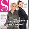 """Sophie Davant parle de sa fille dans """"C à vous"""", le 13 janvier 2021, sur France 5"""