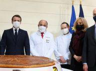 Brigitte Macron : Présence discrète auprès du président, pour la traditionnelle galette