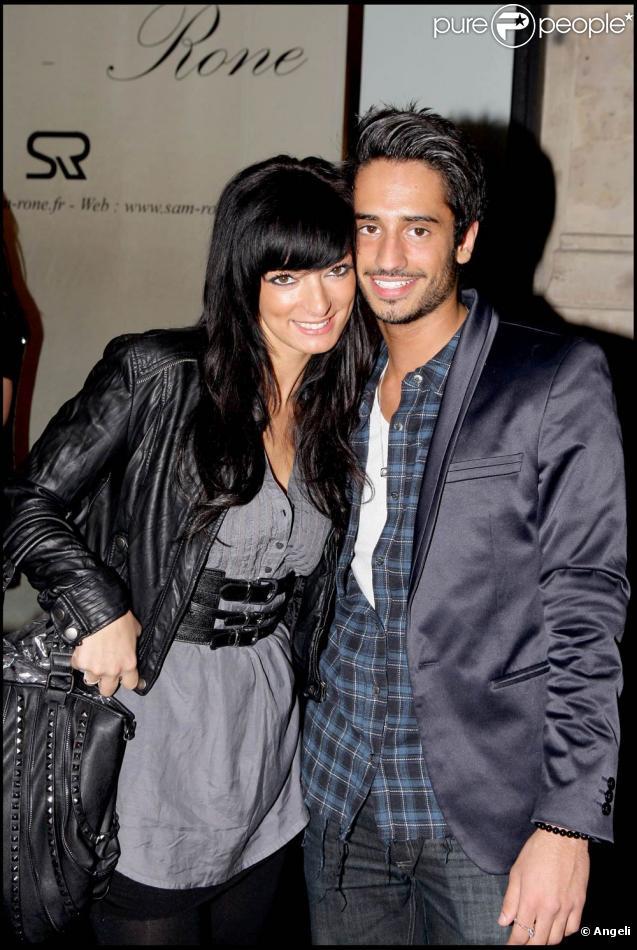 Emilie et Léo à l'occasion des 32 ans de la marque de haute-fourrure Sam-Rone, à Paris, le 14 octobre 2009 !