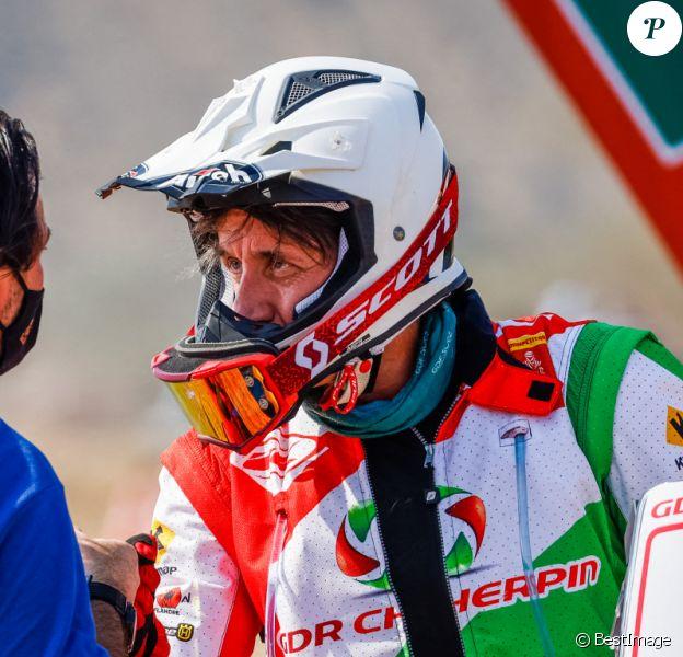 Pierre Cherpin. La première étape du Paris-Dakar 2021 en Arabie Saoudite est lancée le 3 janvier 2021. © Dppi / Panoramic / Bestimage