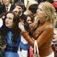 """Blake Lively et Leighton Meester dans la première saison originale de la série """"Gossip Girl"""". 2007."""