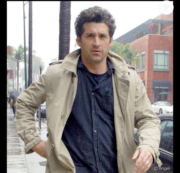 Patrick Dempsey sort de chez son médecin, à Beverly Hills. 14/10/09