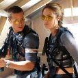 """Angelina Jolie et Brad Pitt dans le film """"Mr. & Mrs. Smith""""."""